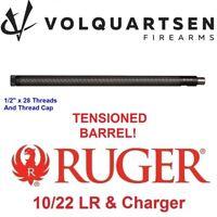 """VOLQUARTSEN Ruger 10-22 ULTRALITE Carbon Fiber .920"""" Bull Barrel BLACK Stainless"""