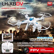 LH-X8DV RC quadcopter HD camera fpv monitor 640x480P Gyro easy to fly drone