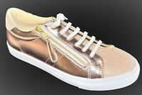 TS shoes TAKING SHAPE sz 10 / 41 Glitz Sneakers wide fit rose gold + glitter NIB