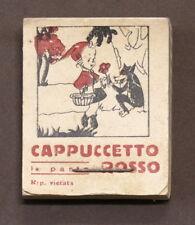Cartone animato cappuccetto rosso in vendita ebay