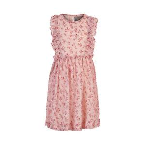 Creamie Girl  Kleid Streublümchen Rose Dobby  Gr. 104 - 164  NEU