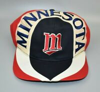 Minnesota Twins Vintage 90s MLB Twins Enterprise Spell Out Snapback Cap Hat