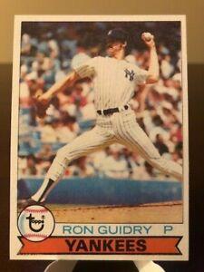 1979 Topps Ron Guidry #500 NY Yankees
