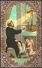 SANTINO HOLY CARD IMAGE PIEUSE - SAN PELLEGRINO LAZIOSI