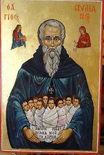 Saint Stilianos, Orthodox icon, Handpainted icon