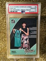 Han XU New York Liberty 2019 WNBA Rookies China Press Proof #151/199 PSA 10 RC