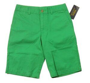 Polo Ralph Lauren Boys Green Cotton Chino Shorts