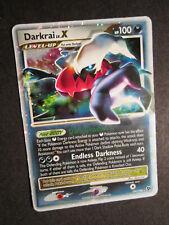 PL Pokemon DARKRAI LV.X Card GREAT ENCOUNTERS Set 104/106 Ultra Rare PLAYED AP
