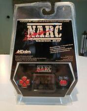 Acclaim NARC vintage handheld electronic game NEW SEALED RARE not tiger lcd game