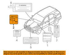 KIA OEM 03-06 Sorento Labels-Vacuum Hose Diagram 3249039425