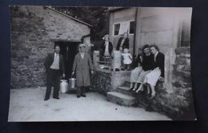 Vintage Photograph Milkmen Close House Farm Low Bentham 1952 Yorkshire A016