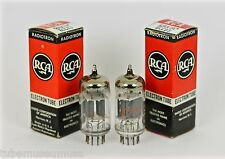 """NOS RCA 12AX7A 7025 ECC83 12AX7 PAIR TUBES """"CREAM OF THE CROP"""" HIGHEST ECHELON!"""