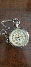 Pocket Watch Compass Maritime Nautical Brass Poem Compass  Lot of 10 Piece