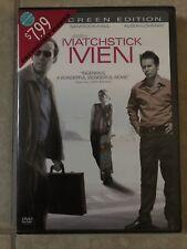Matchstick Men Dvd movie Widescreen Nicolas Cage, Sam Rockwell, Alison Lohivian