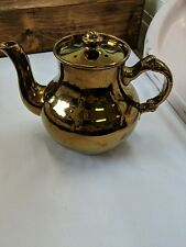 New listing Copper Luster Tea Pot Gibson And Sons Luster Vintage A534 English England