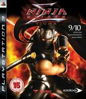 Ninja Gaiden Sigma (PS3) PlayStation 3 - by Eidos New and Sealed Video Games