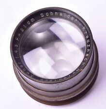 Objectif Schneider-Kreuznach Xenar f/4.5 - 210mm. #1807926