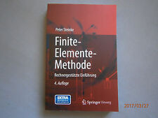 Finite-Elemente-Methode von Peter Steinke  4 Auflage