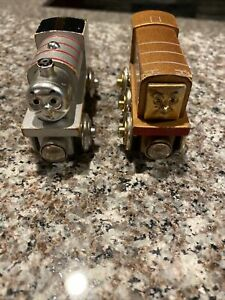 Diesel and Percy Thomas the Train 60 Year Anniversary Tank Engine Wooden
