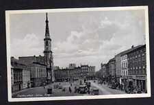 107455 AK Frankenstein Schlesien um 1940 Ring Rathaus Autos