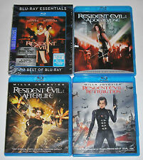 Horror Blu-ray Set - The Resident Evil Collection (1 New & 4 Used)