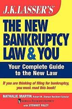 J.K. Lasser's The New Bankruptcy Law and You-ExLibrary