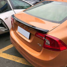 Unpainted ABS For Volvo S60 T4 T5 T6 Sedan OE Look Rear Trunk Spoiler 2011-2018