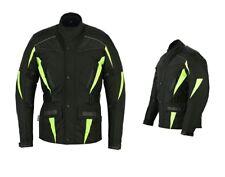 Uomo Mens abbigliamento moto giacca motociclista codura jackets UK USA Sconti IT