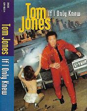 Tom Jones If I Only Knew CASSETTE SINGLE Electronic House ZTT ZANG59C