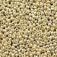 Miyuki 15/0 Seed Beads - Silver Galvanized - 1.3mm (15-181) 12gram bag UK EBAYER