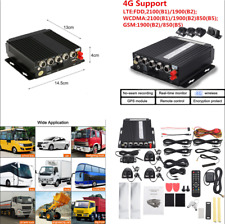 Car Vehicle 4CH Panoramic Mobile DVR 4G Wireless GPS Video Recorder Cameras Kit