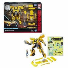 Transformers Studio Series #15 Bumblebee with Charlie Deluxe Class In Hand