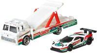 Hot Wheels Team Transport 2016 Ford GT Race C-800 Castrol Kids Diecast Toy Car