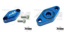 "1/"" Steering Stem Chromoly  Anit-vibe 11//8/"" Billet Clamp Alba S Raptor 250 125"