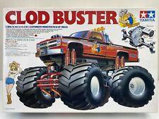 Tamiya Clod Buster Original Vintage 1/10 Monster Truck 4WDS NIB w/CHEVY BOWTIE