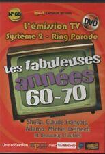 LES FABULEUSES ANNEES 60 70 ... N°68 ... SHEILA, FRANCOIS, PEYRAC, DELPECH