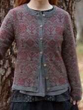 Beautiful Warm Gudrun Sjoden Sweater Porslin L Organic Cotton/Wool Great Print
