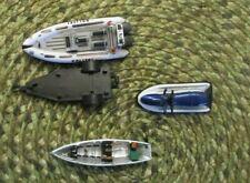 New Listing3 die cast water craft, German police Polizei w/trailer, Wave Runner, row boat