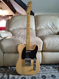 2014 Squier Classic Vibe 50s Telecaster in Butterscotch Blonde Electric Guitar