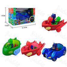 PJ Masks Action Figure Catboy Car Owlette Glider Gekko Mobile Kids Toy Gift 3pcs