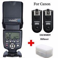 Yongnuo YN-560 IV Speedlite Flash With 2pcs RF-603 II Transceiver (canon)