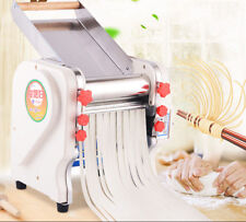 US 550W Stainless Electric Pasta Noodle Making Machine Commercial &Home Use 220V