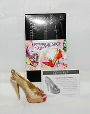 Just The Right Shoe by Raine Shoe Miniatures-Glamour Girl Nib