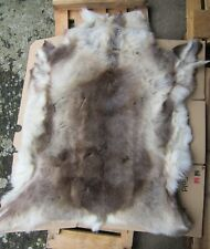 Reindeer fur pelt skin rug Decorative reenactment
