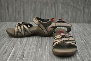 **Teva Tirra 4266 Sandals, Women's Size 7.5, Taupe