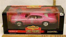 Vintage 1999 Ertll 1/18 '69 1969 Pontiac GTO Judge # 7467 American Muscle Pink