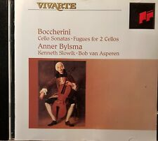 Boccherini. Cello Sonatas. Fugues for 2 Cellos. Anner Bylsma. CD