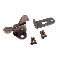 Oil Rubbed Bronze Furniture Elbow Catch With Strike Plate Kitchen Cabinet Latch