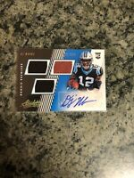 2018 Absolute DJ Moore Carolina Panthers Triple Relic Autograph RC # 386/399