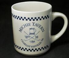 Michie Tavern Coffee Mug Cup 1784 Charlottesville, Virginia w/ Clay Pipe & Stein
